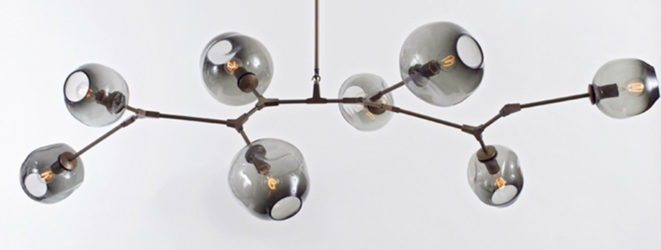 Lindsey Adelman Branching Bubble Chandelier